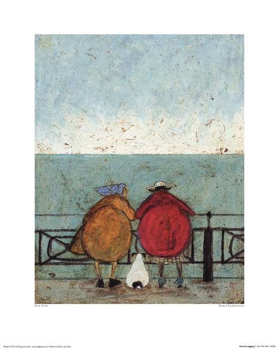 Sam Toft (Doris Earwigging) Art Prints