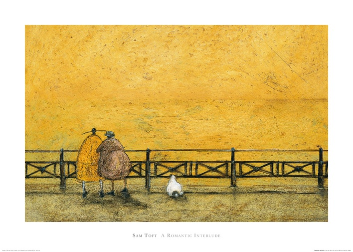 Sam Toft (A Romantic Interlude) Art Print
