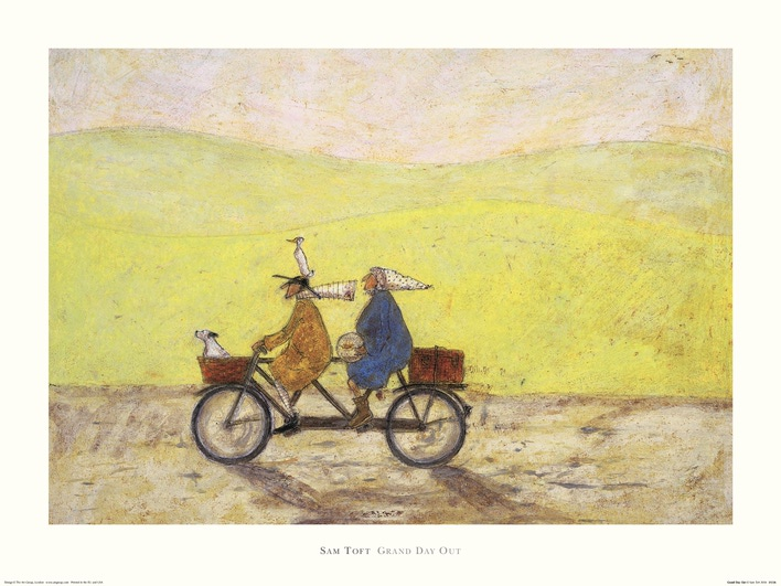 Sam Toft (Grand Day Out) Art Print