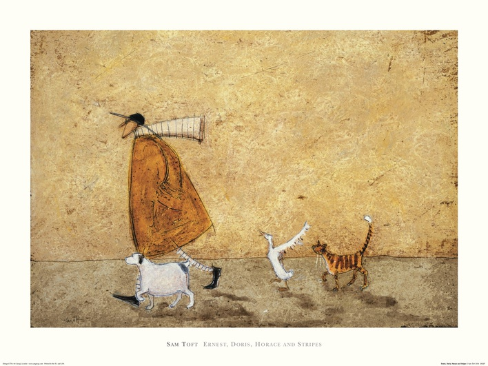 Sam Toft (Ernest, Doris, Horace And Stripes) Art Prints