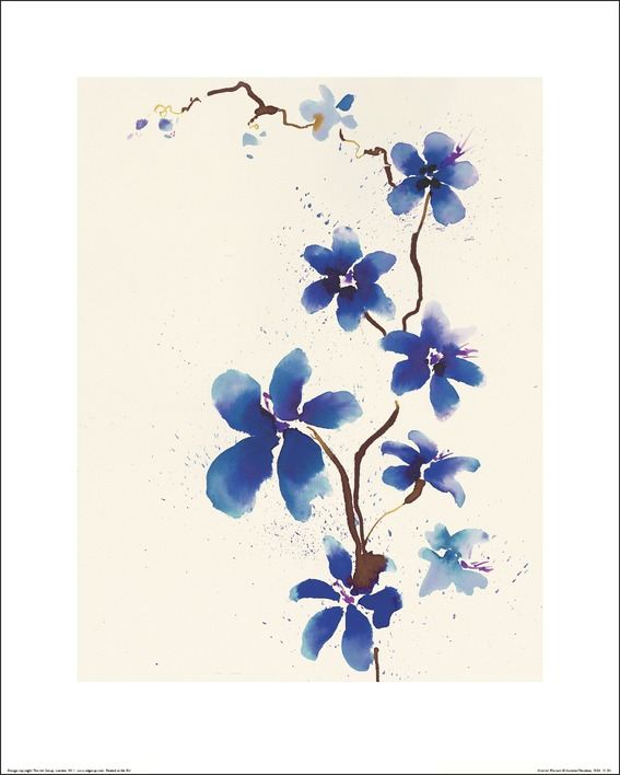 Summer Thornton (Oriental Blossom) Art Print
