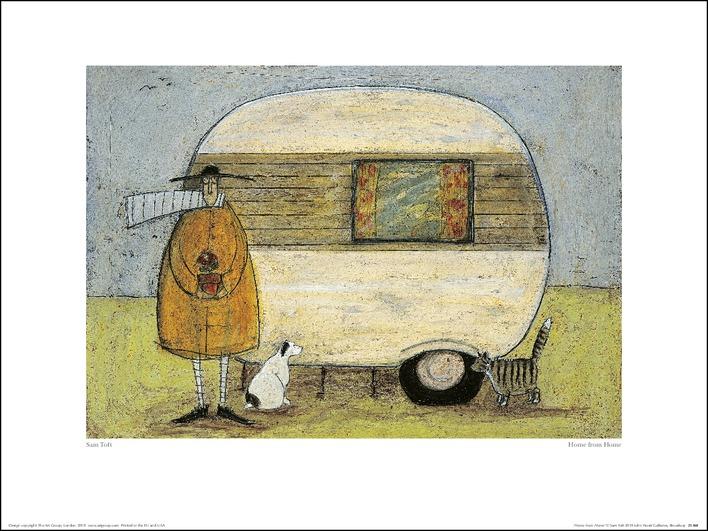 Sam Toft (Home From Home) Art Print