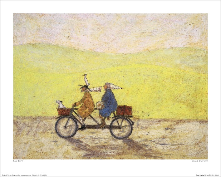 Sam Toft (Grand Day Out) Art Prints