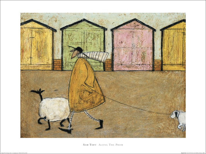 Sam Toft (Along The Prom) Art Prints