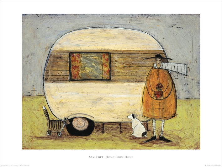 Sam Toft (Home From Home) Art Prints