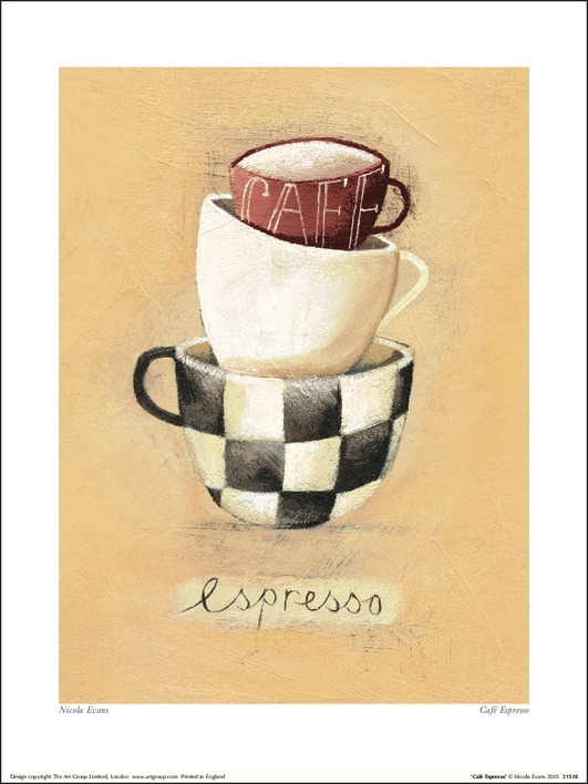 Nicola Evans (Cafe Espresso) Art Prints