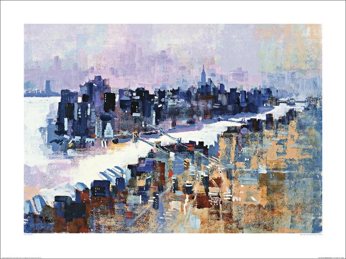 Colin Ruffell (New York & Manhattan Island) Art Print