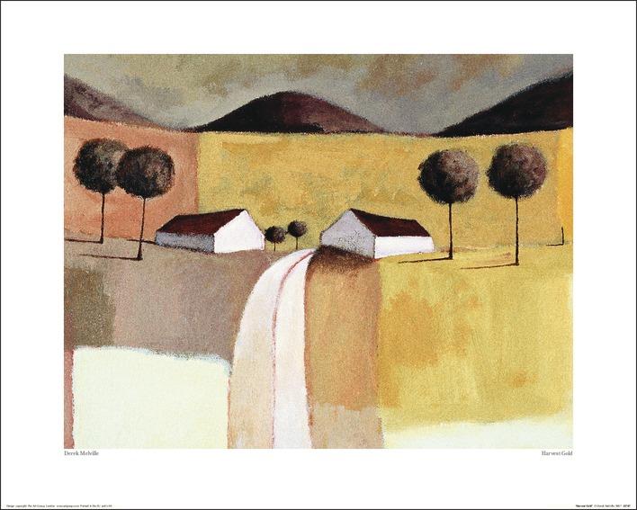Derek Melville (Harvest Gold) Art Prints