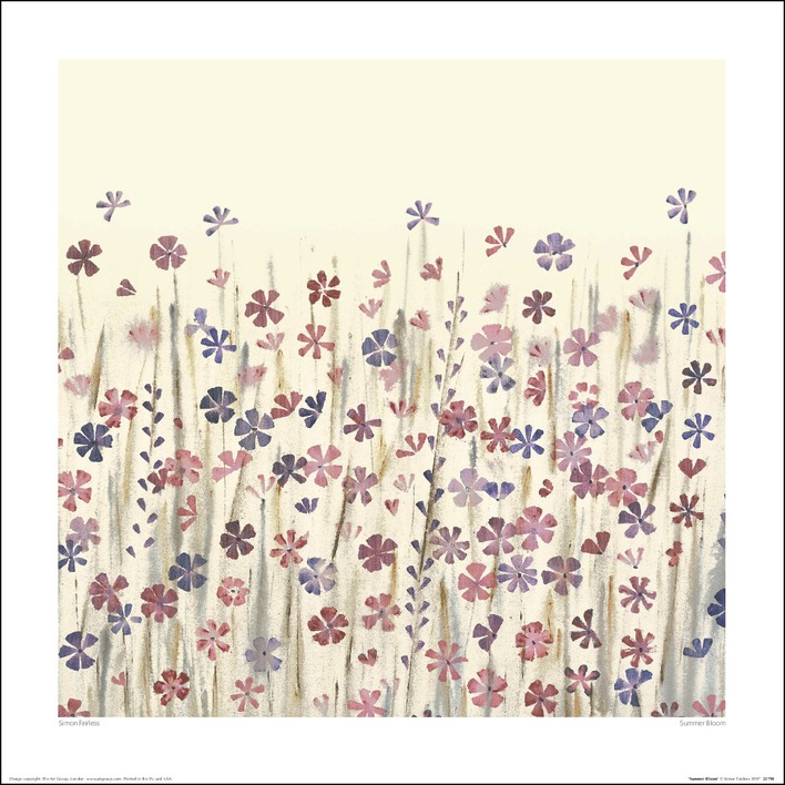 Simon Fairless (Summer Bloom) Art Prints
