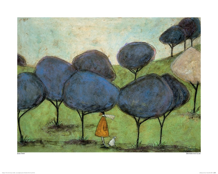 Sam Toft (Sniffing The Lilac) Art Prints