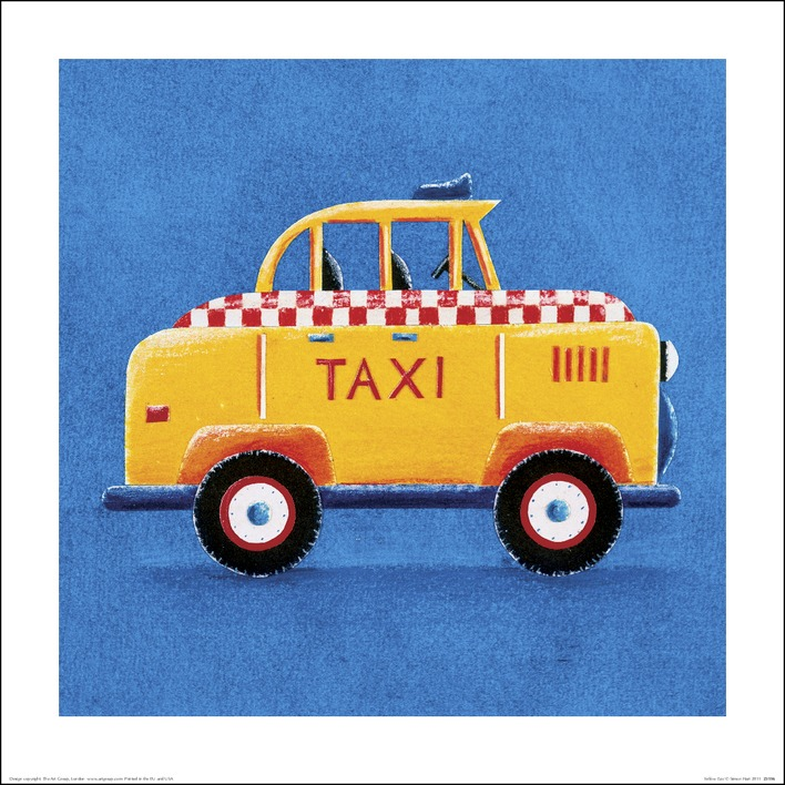 Simon Hart (Yellow Taxi) Art Prints