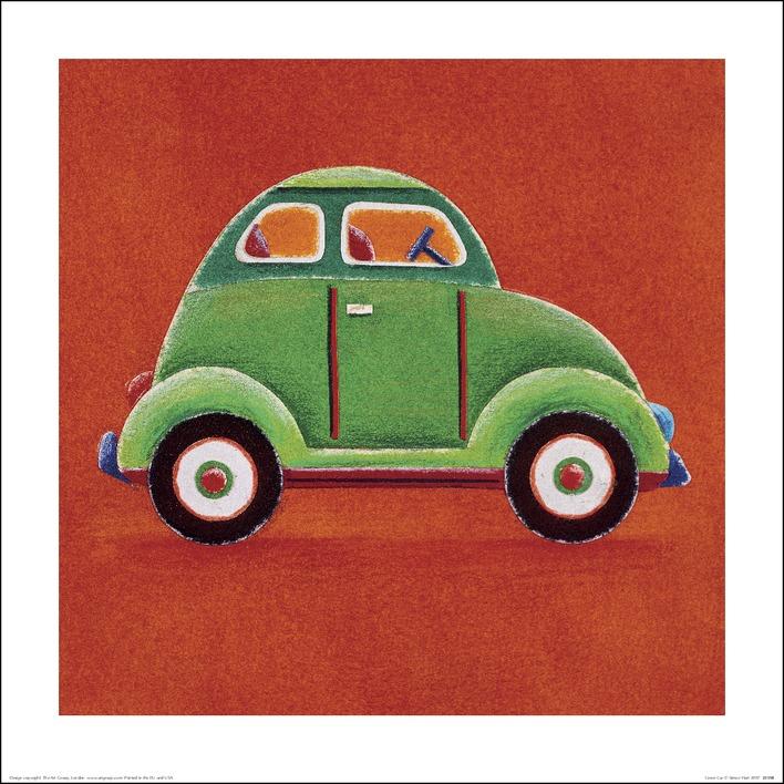 Simon Hart (Green Car) Art Print