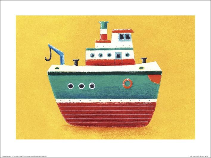 Simon Hart (Tug Boat) Art Prints