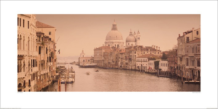 Rod Edwards (Canal Grande, Venice) Art Prints