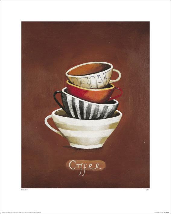 Nicola Evans (Coffee Decaf) Art Print