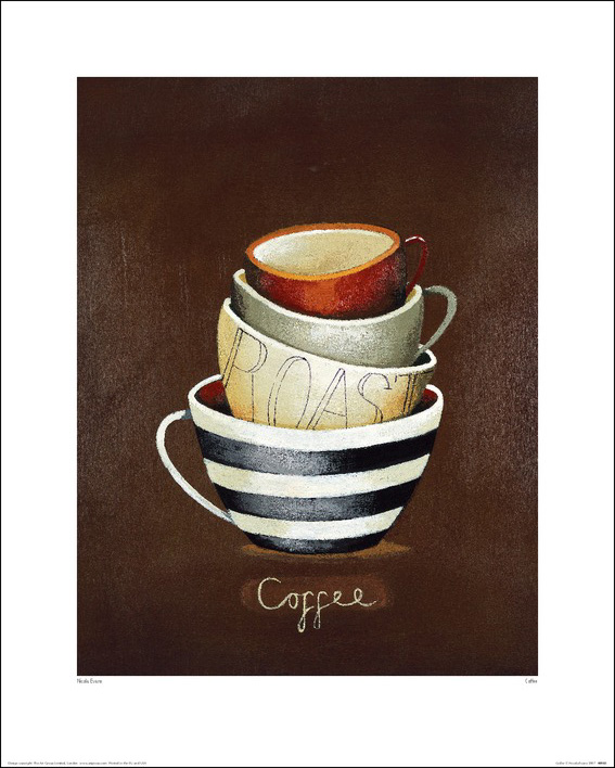 Nicola Evans (Coffee) Art Prints