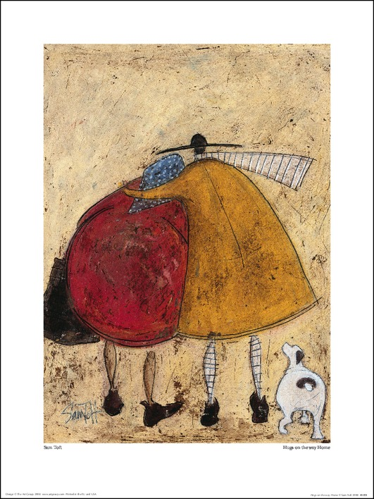 Sam Toft (Hugs On The Way Home) Art Print