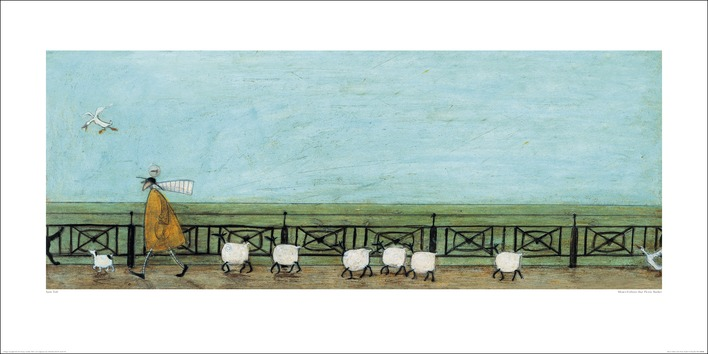 Sam Toft (Moses Follows That Picnic Basket) Art Print