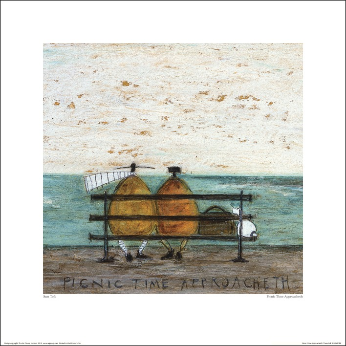 Sam Toft (Picnic Time Approacheth) Art Prints