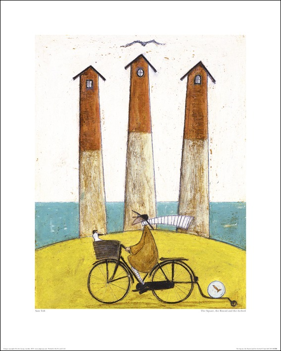 Sam Toft (The Square, The Round And The Arched) Art Print