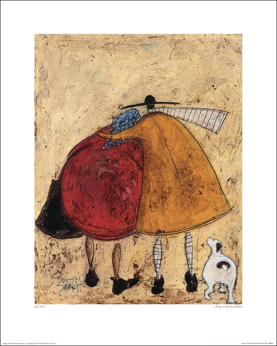 Sam Toft (Hugs On The Way Home) Art Prints