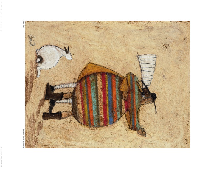 Sam Toft (Dancing Cheek To Cheeky) Art Print