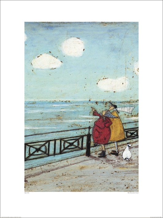 Sam Toft (Her Favourite Cloud) Art Print