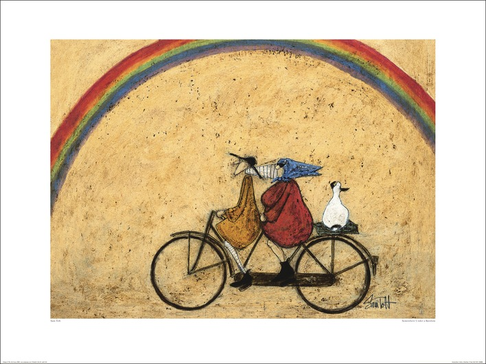 Sam Toft (Somewhere Under a Rainbow) Art Print
