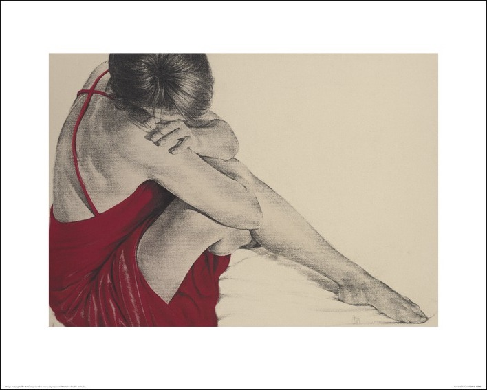 T. Good (Red III) Art Prints