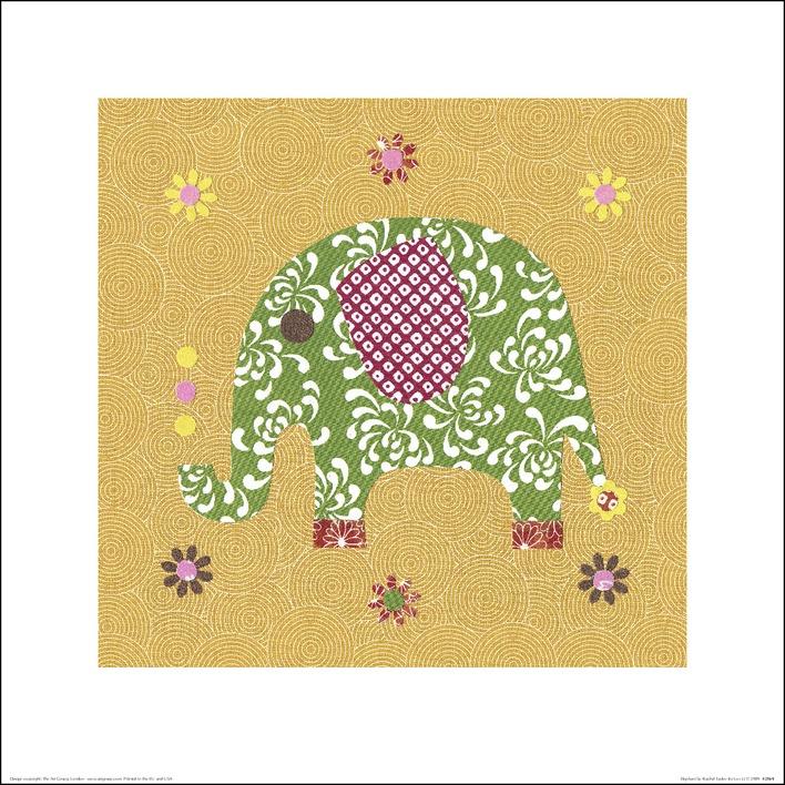 Rachel Taylor (Elephant) Art Print