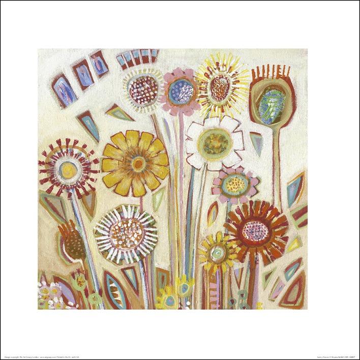 Shyama Ruffell (Sunny Flowers) Art Print