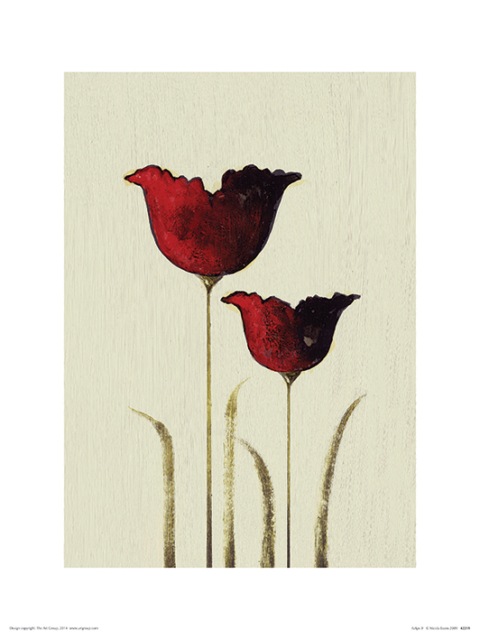 Nicola Evans (Tulips II) Art Prints