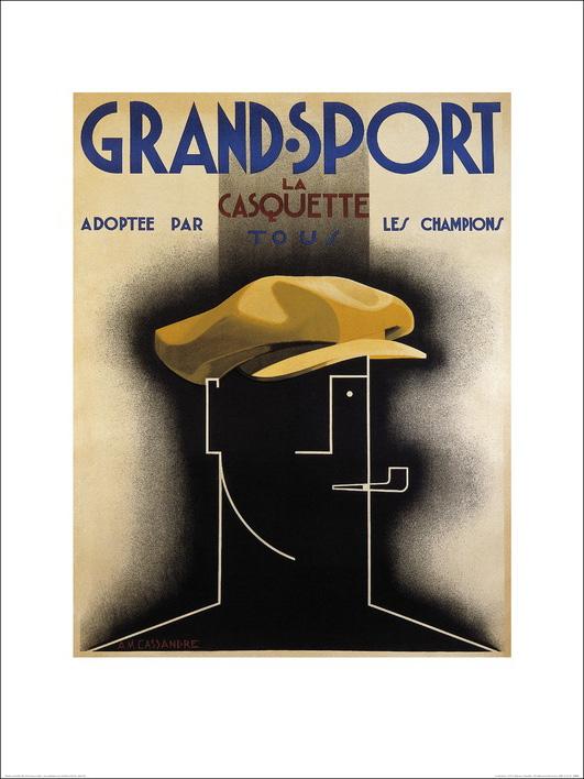 A.M. Cassandre (Grand Sport, 1925) Art Print