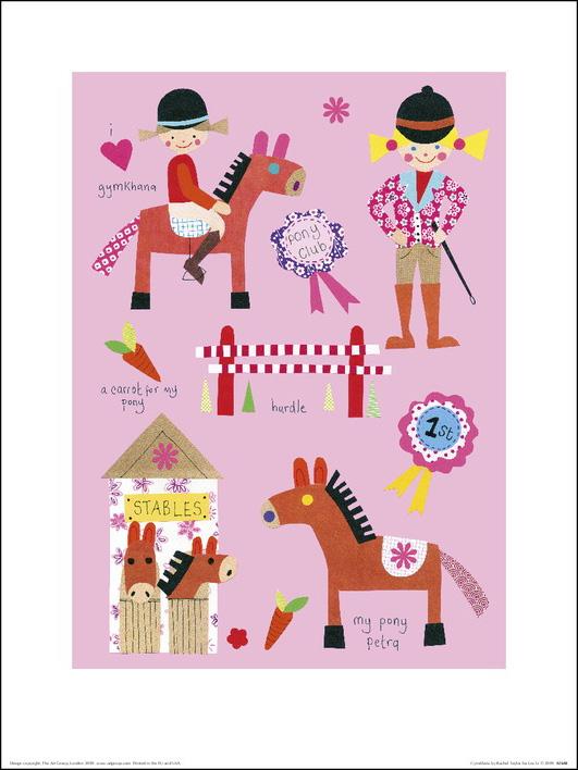 Rachel Taylor (Gymkhana) Art Print
