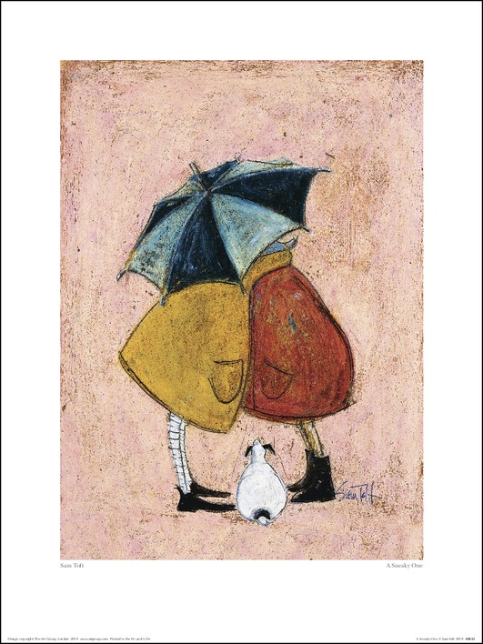 Sam Toft (A Sneaky One) Art Print
