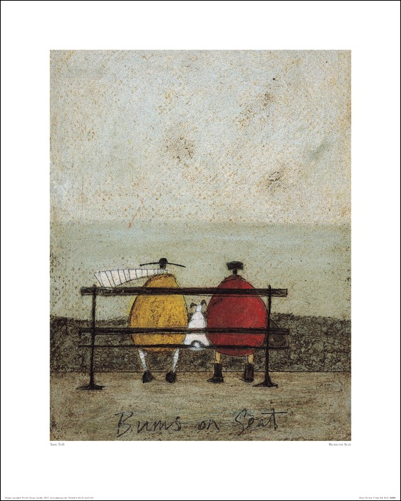 Sam Toft (Bums On Seat) Art Prints