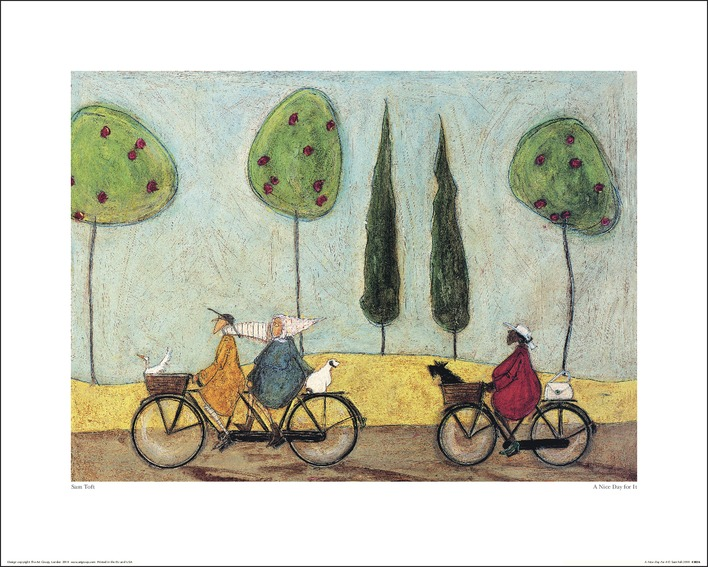 Sam Toft (A Nice Day For It) Art Print