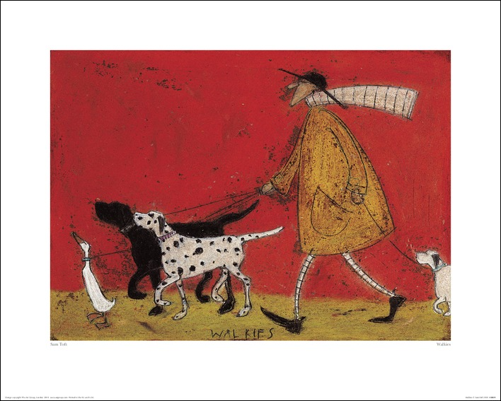 Sam Toft (Walkies) Art Prints