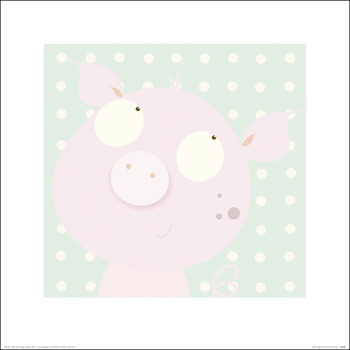 Nicola Evans (Pinky Piggy) Art Print