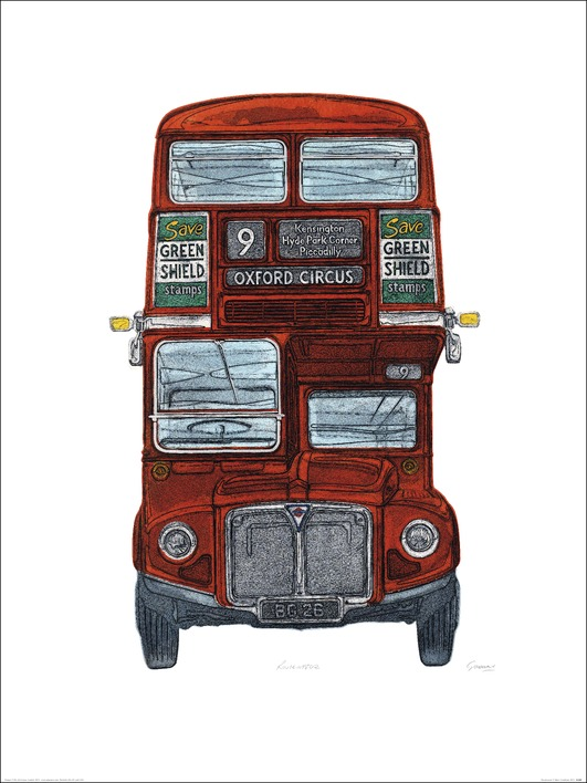 Barry Goodman (Routemaster) Art Print