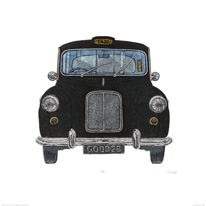 Barry Goodman (Taxi) Art Prints