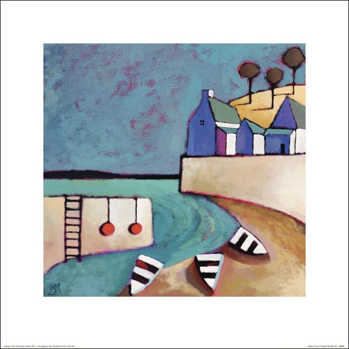Derek Melville (Harbour View) Art Prints
