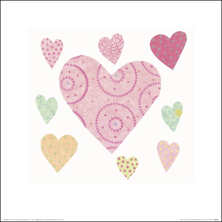 Rachel Taylor (Lots of Love) Art Prints