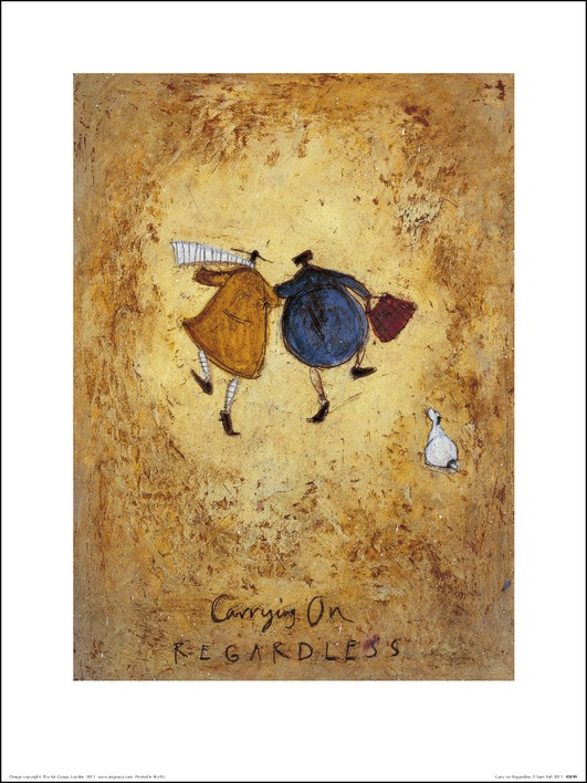 Sam Toft (Carrying on Regardless) Art Prints