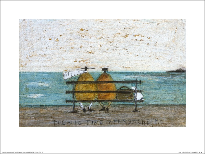Sam Toft (Picnic Time Approacheth) Art Print