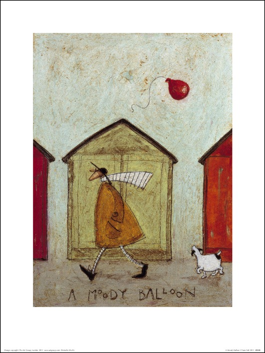 Sam Toft (A Moody Balloon) Art Print
