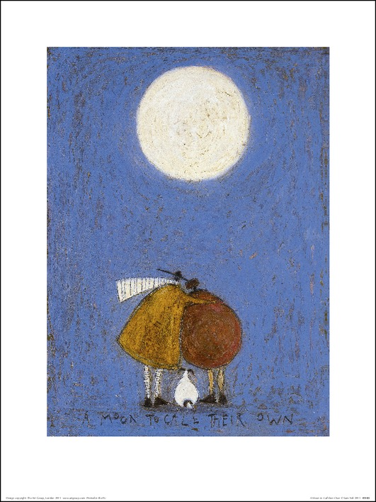 Sam Toft (A Moon To Call Their Own) Art Print