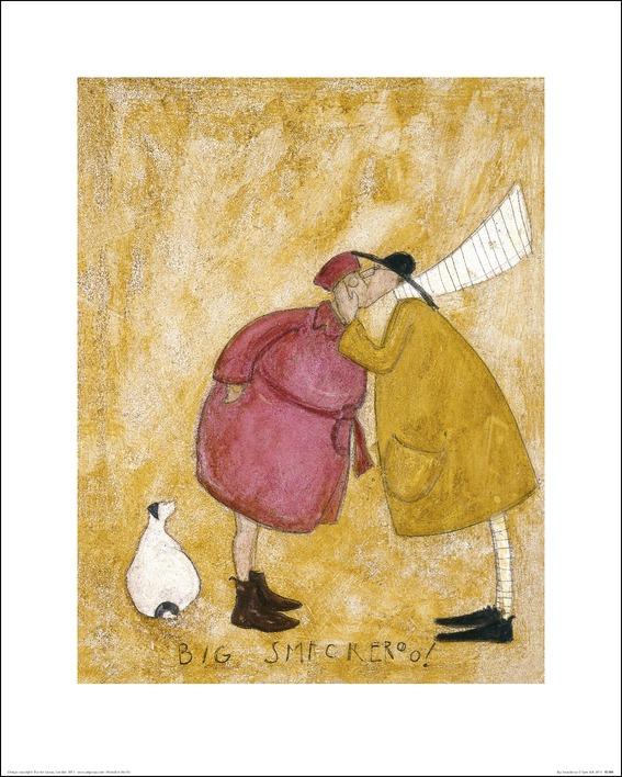 Sam Toft (Big Smackeroo!) Art Print