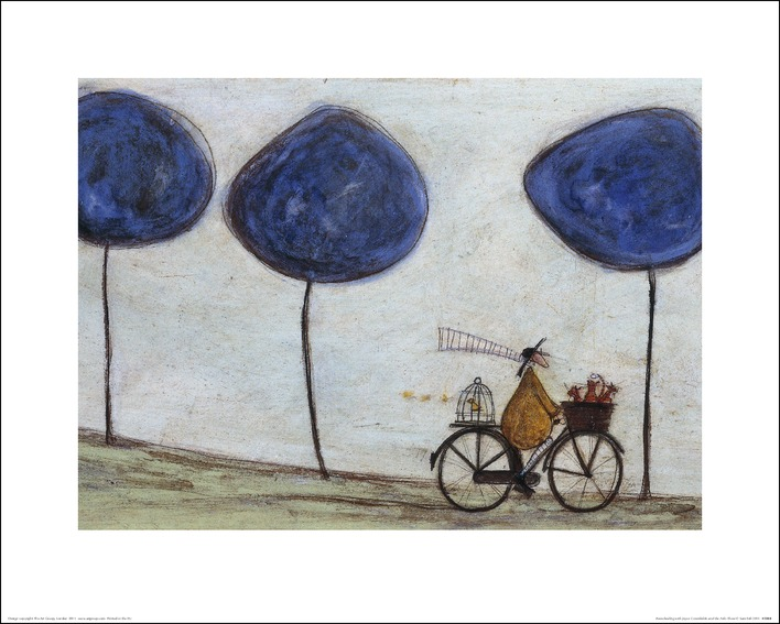Sam Toft (Freewheelin' with Joyce Greenfields and the Felix 3) Art Print