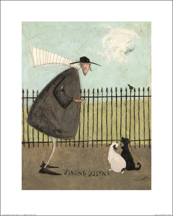 Sam Toft (Singing Lessons) Art Print